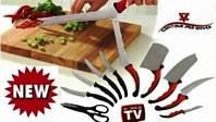 Подарок Маме Contour Prо! Качественный Набор Кухонных Ножей Контр Про | LM320125