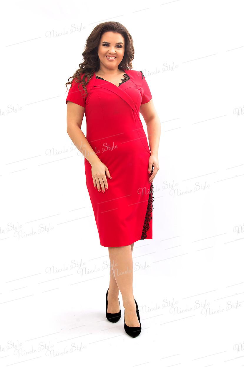 Красное платье   433 54