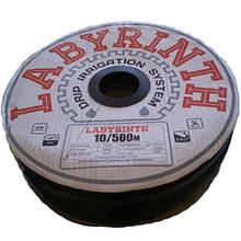 """Крапельна стрічка 8/0,2 мм, 10см, 300м """"LABIRINT"""""""