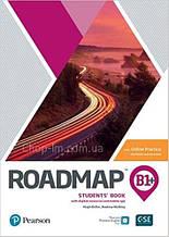 Учебник с практикой Roadmap B1+ Students' Book with Online Practice / Pearson