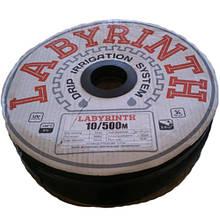 """Крапельна стрічка 8/0,2 мм, 10см, 500м """"LABIRINT"""""""