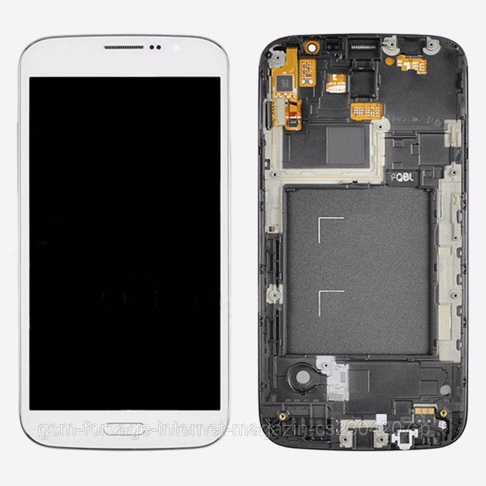 "Дисплей Samsung Galaxy Mega (5.8"") GT-I9150 White complete + рамка"