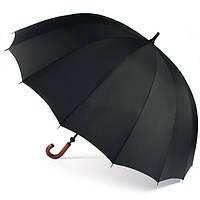 Зонт трость механика мужской 102х160 см Zest acs0004377 Черный