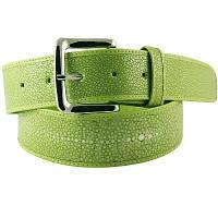 Ремень из шлифованной кожи ската STMBB1-5SA Light Green