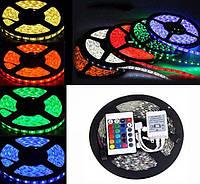 Светодиодная лента LED 5050 RGB комплект 5 метров, разноцветная | LM321013