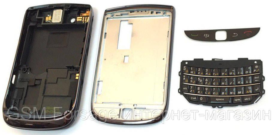 Задняя часть корпуса BlackBerry Torch 9800 Black Complete Original