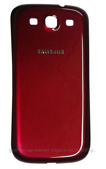 Задняя часть корпуса Samsung Galaxy S III GT-i9300 Red Original