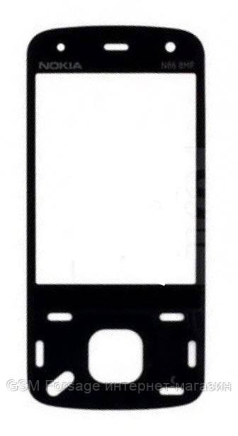 Стекло Nokia N86 Black