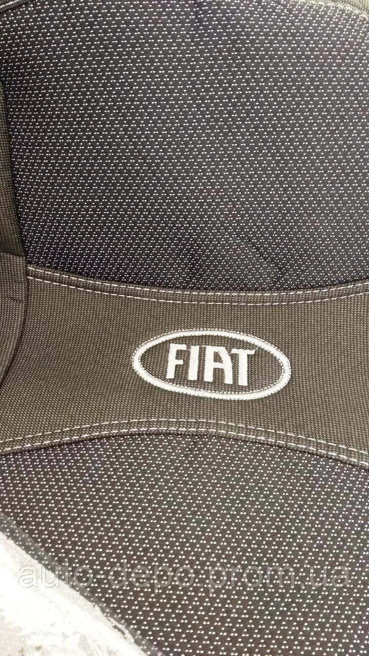 Авточохли для Fiat Doblo 1+1 з 2010 р. в., Чохли на сидіння Фіат Добло 1+1 2010-