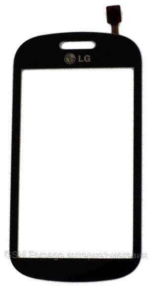 Тачскрин LG GT350 Black