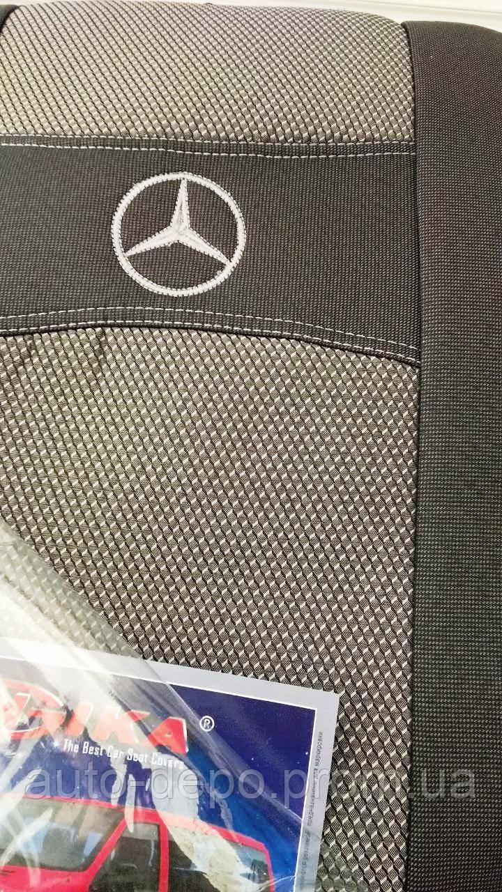 Авточехлы Mercedes Vito I W638 1+2 Мерседес Вито 1996 - 2003 Nika