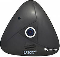 Панорамная потолочная VR IP WiFi камера Ukc 3630 3mp 360 Black (4947)