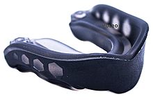 Капа для бокса гелевая двухкомпонентная VOLRO Черный (vol-520)