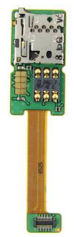 Шлейф Nokia E65 SIM & Memory