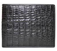 Портмоне из кожи крокодила (хвост) ALM 17 T Black