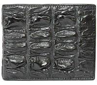 Портмоне из кожи крокодила (хвост) ALM 03 BT Black