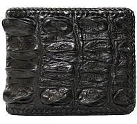 Портмоне из кожи крокодила (хвост) ALM 03 HT Black