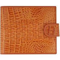 Портмоне из кожи крокодила ALM 100T Tan