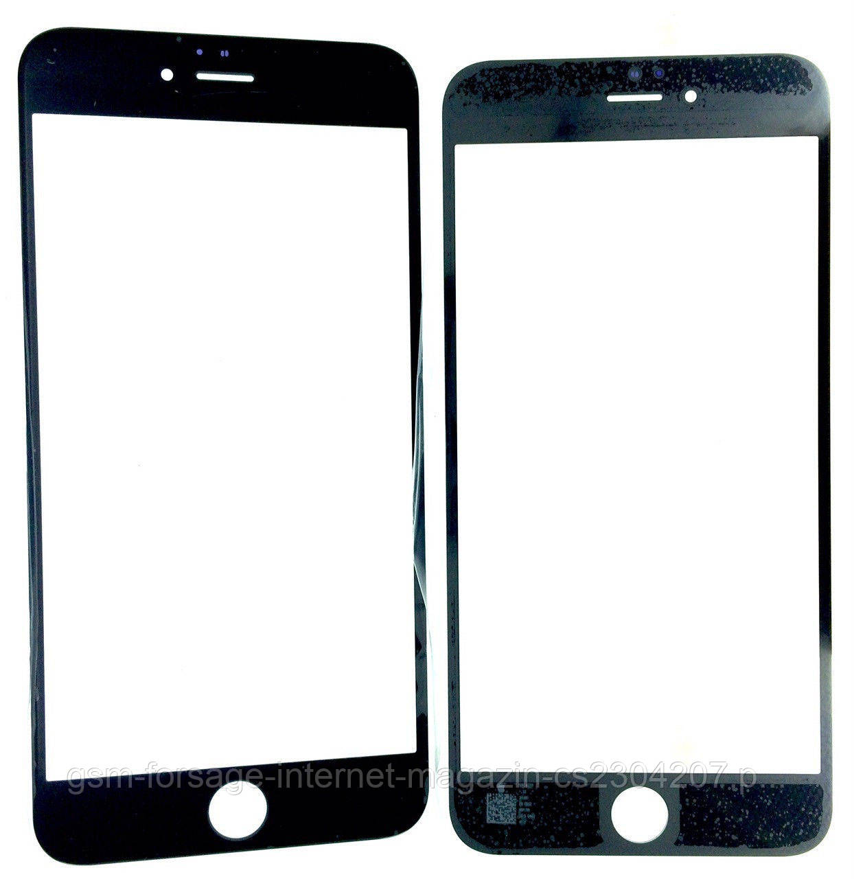 "Стекло дисплея iPhone 6S Plus (5.5"") Black (для переклейки)"