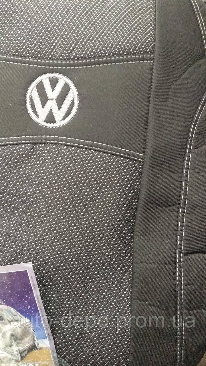Авточехлы Фольксваген Т5 Volkswagen T5 1+1 2003- Nika