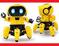 Игрушечный умный Робот конструктор шагающий | LM321838