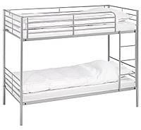 Кровать двух ярусная металлическая  (200 см)