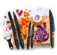 Набор ножей с керамическим покрытием 6 предметов