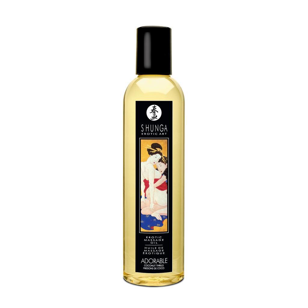 Массажное масло Shunga Adorable Coconut thrills, 250 мл