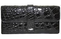 Кошелёк из кожи крокодила ALW 09 Black