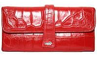 Кошелёк из кожи крокодила ALW 09 Red
