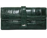 Кошелёк из кожи крокодила ALW 09 Green