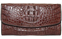 Кошелёк из кожи крокодила PCM 03 H Brown