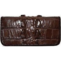 Купюрник из кожи крокодила CL 23 Brown