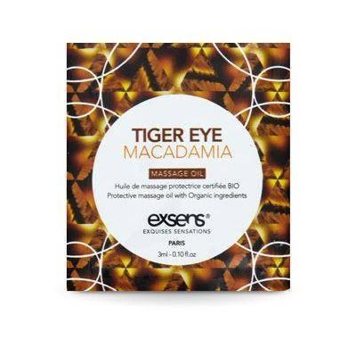 Пробник массажного масла Exsens Tiger Eye Macadamia, 3 мл, фото 2