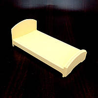 Кровать для кукол Аврора лимонад