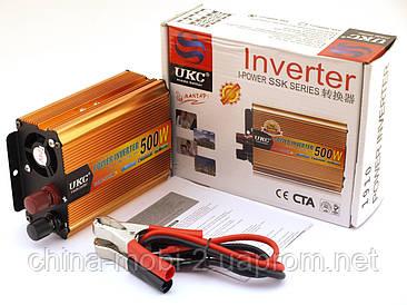 Преобразователь напряжения, инвертор UKC AC/DC 1910 24V-220V 500W