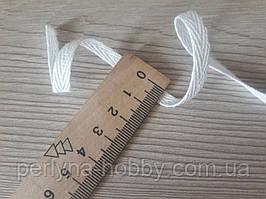 Тесьма хлопковая, киперная лента, киперка. Кіперка ( кіперна стрічка ) бавовняна  біла 6мм