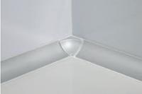 Внутренний уголок GTA/I анодированный, серебро