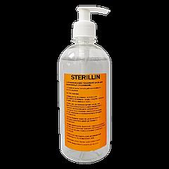 Дезинфицирующее средство для рук 500 мл (с помпой)  Стериллин (Sterillin)