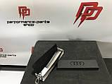 Жіночий шкіряний брелок Audi Audi Key Ring Leather, Womens, артикул 3181900200. Офіційна колекція Audi., фото 5