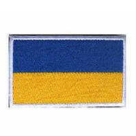 Нашивка на липучке ''Флаг Украины'', фото 1
