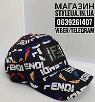 Кепка мужская FENDI  бейсболка молодежная/Стильна трекер