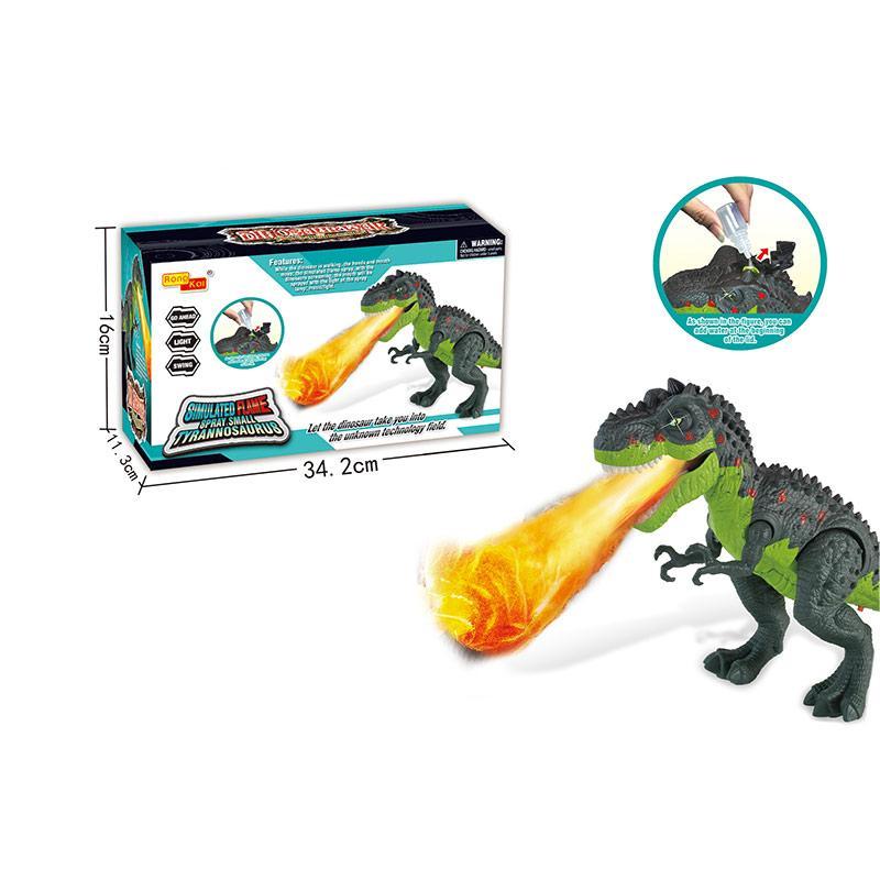 Интерактивное животное Динозавр, свет, звук, пар, 6835