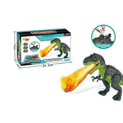 Интерактивное животное Динозавр, свет, звук, пар, 6835, фото 2