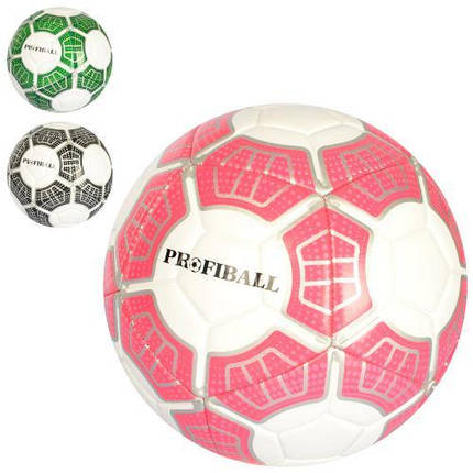Мяч футбольный, р. 5, 400-420г, EN-3195, фото 2