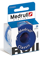 "Лейкопластир медичний в рулонах Medrull ""Classic"", 1 см х 250 см."
