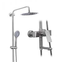 Душова система виливши є перемикачем на лійку або верхній душ з нержавіючої сталі  Gappo Satenresu-ko G2499-20