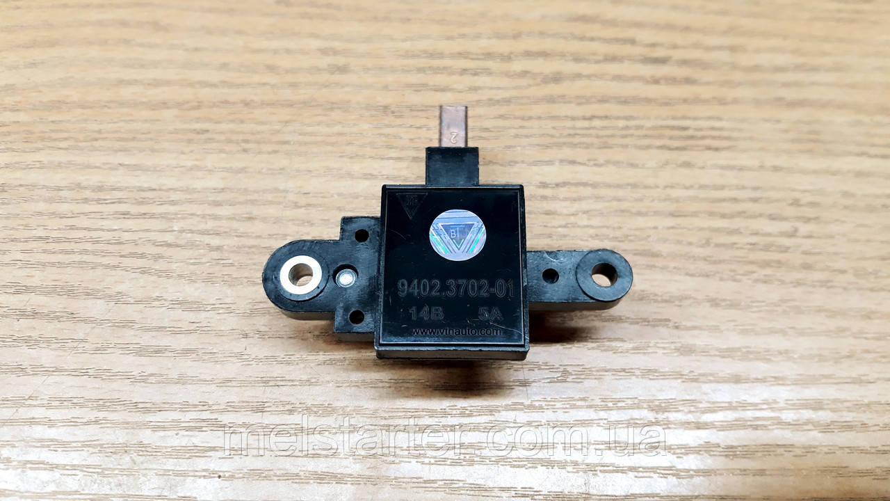 Регулятор напруги 9402.3702-01 (ВАЗ-2108, ВАЗ-2110, 9402.3701) 14,1 В, 5А