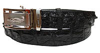 Ремень из кожи крокодила CRBD1-5 Black