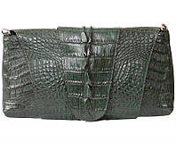 Сумка-клатч из цельной шкуры крокодила FCM 320 Emerald Green